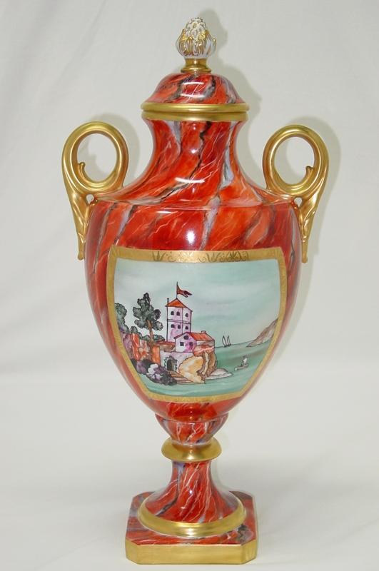 Imperial Red Vase